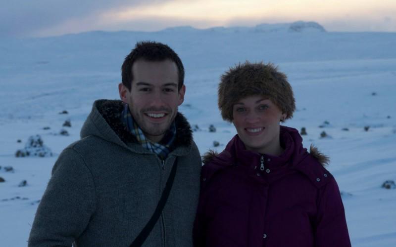 Enjoying Iceland