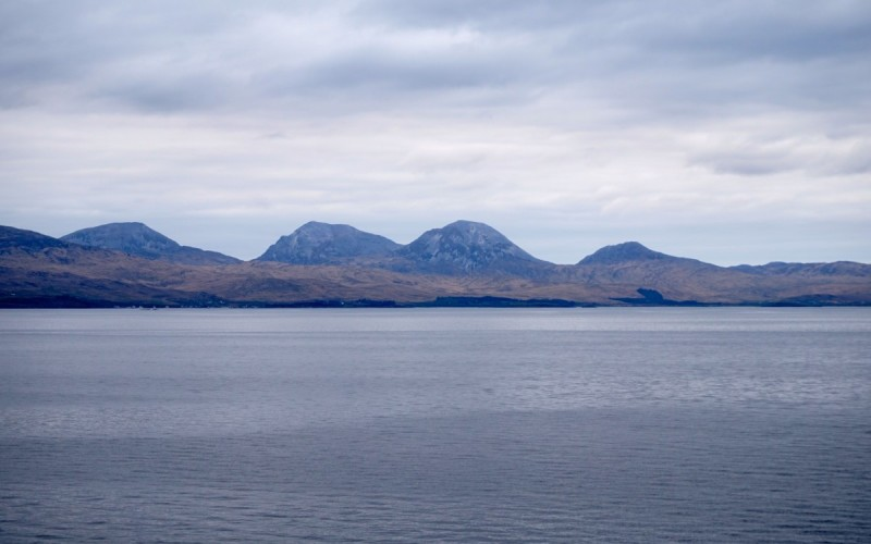 View of Jura from the ferry