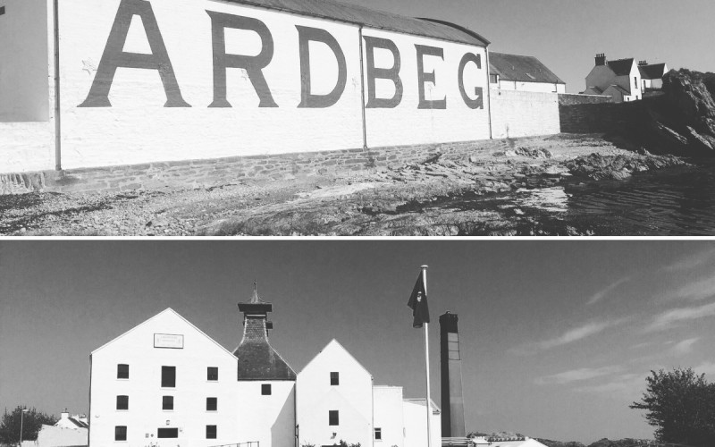 Iconic shots of these distilleries on Islay